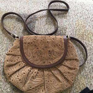 Handbags - Leather crossbody handbag
